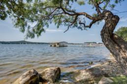 Dock at Possum Kingdom Lake - Real Estate Photography Graham, Texas