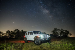 2018 Jeep Rubicon at a ranch in Jacksboro, TX