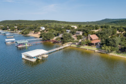 Possum Kingdom Aerial Image - Real Estate Aerial Photography