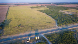 Aerial image of a land off of FM2178 near Olney, TX