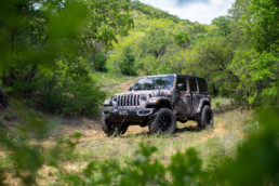 Commercial photo of a Jeep in Jacksboro, TX