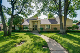 An exterior image of a home at a real estate listing in Wichita Falls, TX