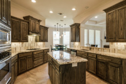 A kitchen at a real estate listing in Wichita Falls, TX