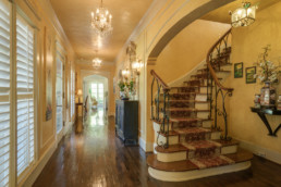 A real estate photograph of an entry way at a home in Wichita Falls, TX