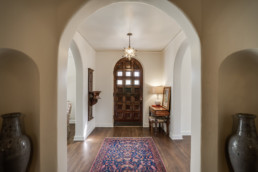 An entryway real estate photograph at a home listed for sale in Wichita Falls, TX