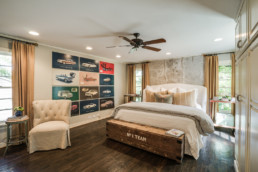 A real estate photograph of a bedroom at a home in Wichita Falls, TX