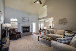 A real estate photograph of an interior at a home in Wichita Falls, TX