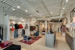Portfolio image of renovation at Sewn Shop in Wichita Falls, TX - commercial photographer