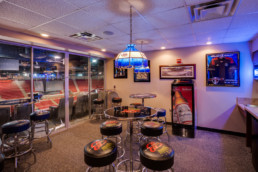 A suite at the Kay Yeager Coliseum in Wichita Falls, TX