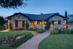 Twilight exterior image of a home in Wichita Falls, TX