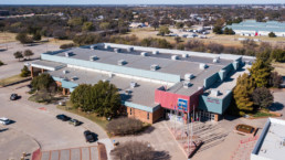Aerial Photograph of Ray Clymer Exhibit Hall at the MPEC in Wichita Falls, TX