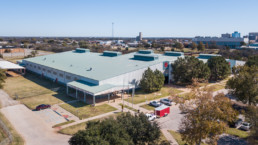 Aerial Photograph of JS Bridwell Ag Center in Wichita Falls, TX